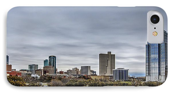 Downtown Fort Worth Trinity Trail IPhone Case by Jonathan Davison
