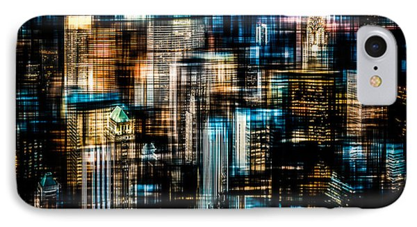 Downtown II - Dark Phone Case by Hannes Cmarits
