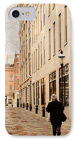 Downtown Lancaster Alley IPhone Case by Trish Tritz