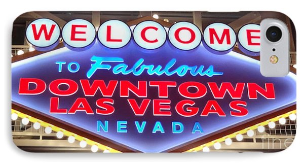 Downtown Las Vegas Baby IPhone Case