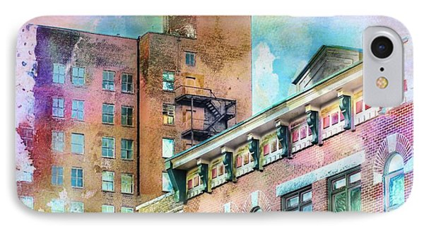 Downtown Living In Color IPhone Case