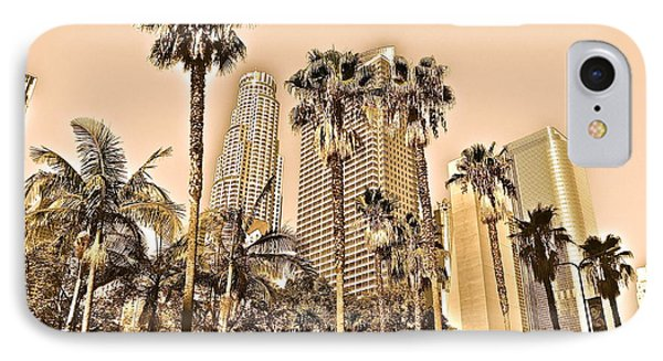 Downtown Los Angeles IPhone Case