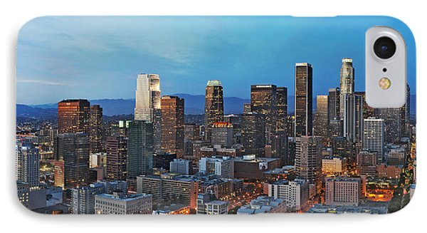 Downtown Los Angeles IPhone Case by Kelley King