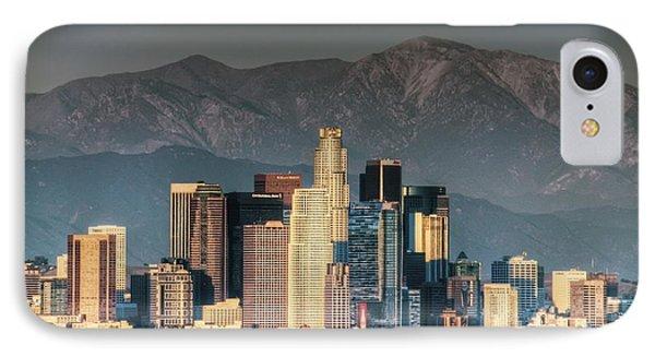 Downtown Los Angeles Phone Case by Natasha Bishop