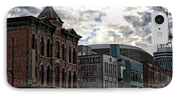 Downtown Nashville Phone Case by Dan Sproul