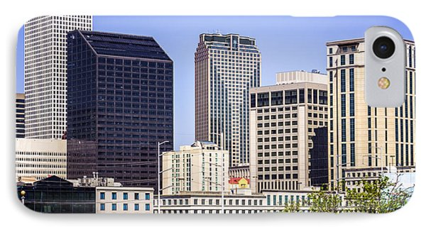 Downtown New Orleans Buildings Phone Case by Paul Velgos