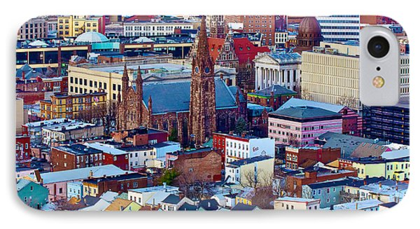 Downtown Paterson IPhone Case by Mark Miller