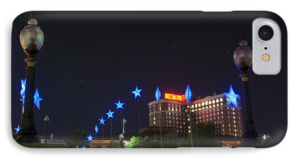 Downtown Providence At Night IPhone Case by Juli Scalzi