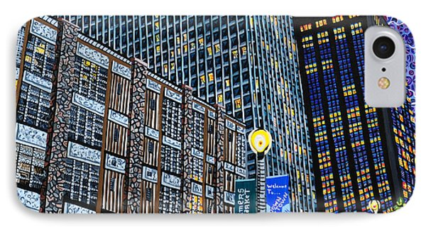 Downtown Raleigh - Hudson Building Phone Case by Micah Mullen