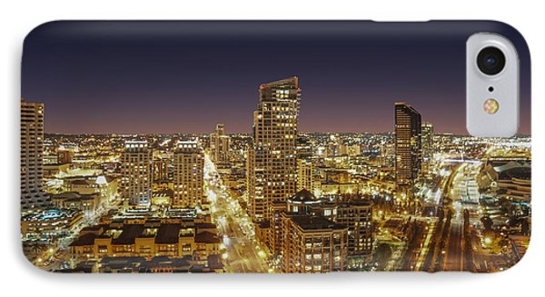 Downtown San Diego IPhone Case by Alex Weinstein