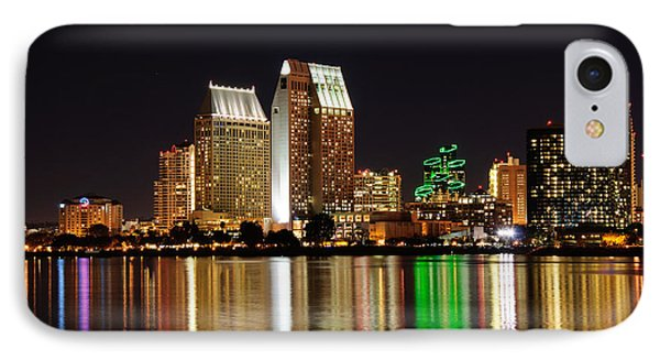 Downtown San Diego IPhone Case by Gandz Photography