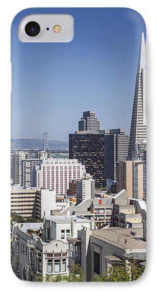 Downtown San Francisco IPhone Case by Adam Romanowicz