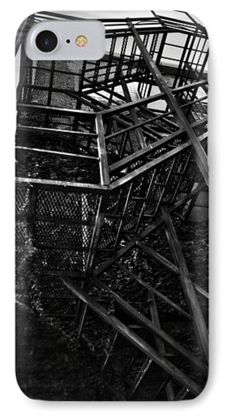 Downtown Stairs Phone Case by Kenal Louis