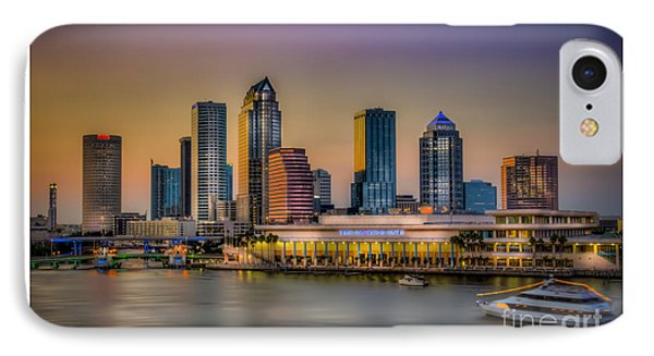 Downtown Tampa Phone Case by Marvin Spates