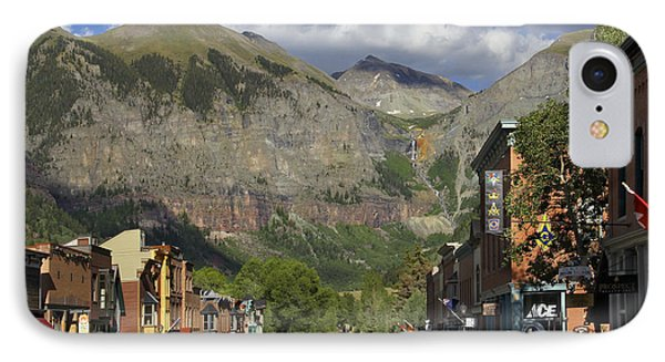 Downtown Telluride Colorado Phone Case by Mike McGlothlen