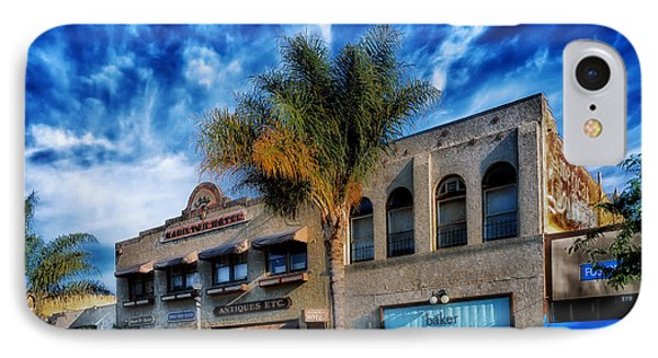 Downtown Ventura IPhone Case by Mountain Dreams