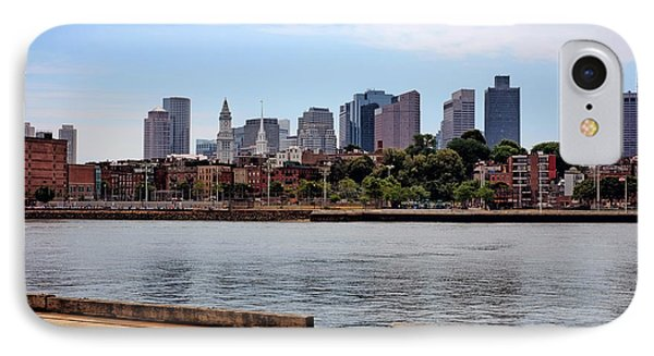 IPhone Case featuring the photograph Downtown View In Boston by Boris Mordukhayev