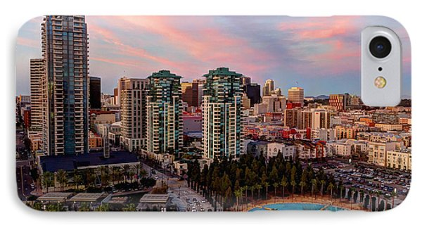 IPhone Case featuring the photograph Downtown View San Diego by Heidi Smith