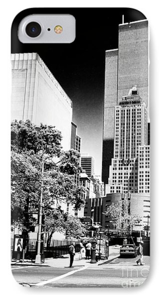 Downtown Views 1990s Phone Case by John Rizzuto