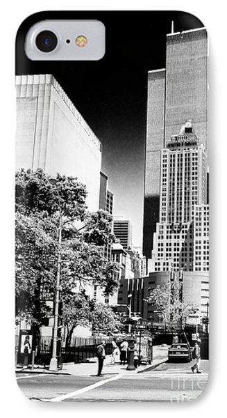 Downtown Views 1990s IPhone Case