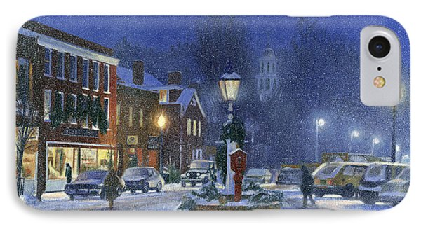 Downtown Woodstock Phone Case by Candace Lovely