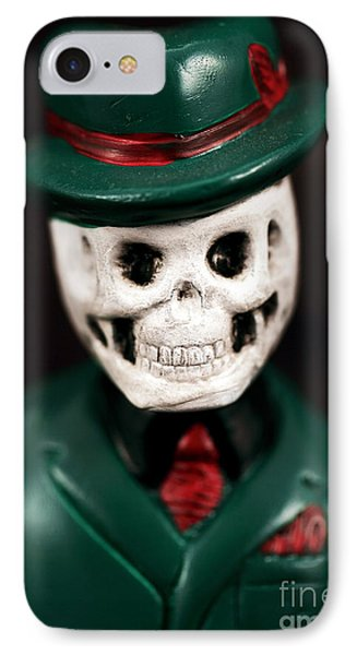 Dr. Death Phone Case by John Rizzuto