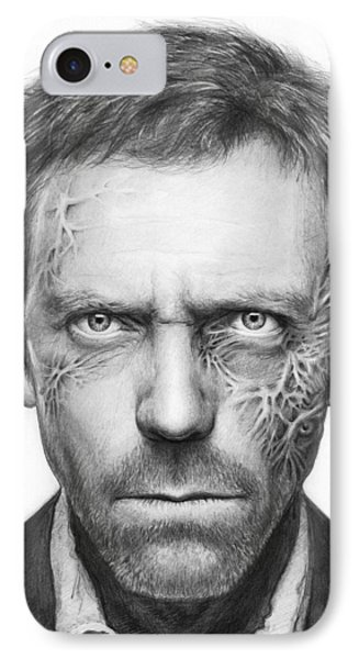 Dr. Gregory House - House Md IPhone 7 Case by Olga Shvartsur