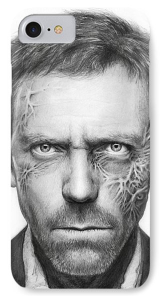 Dr. Gregory House - House Md IPhone Case by Olga Shvartsur