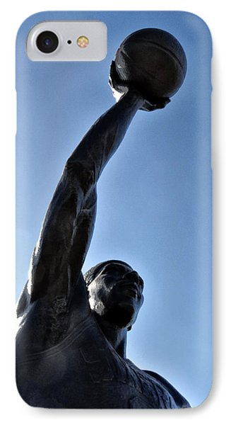Dr. J. IPhone Case by Bill Cannon