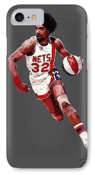 Dr. J Phone Case by Charley Pallos