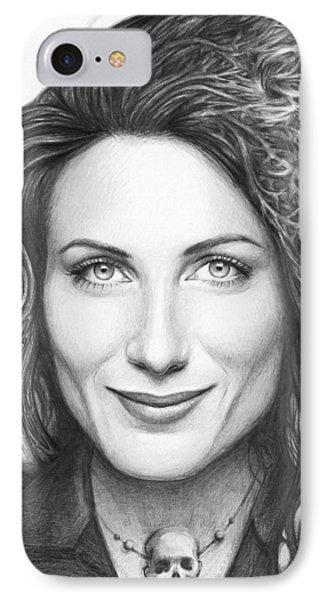 Dr. Lisa Cuddy - House Md IPhone Case by Olga Shvartsur
