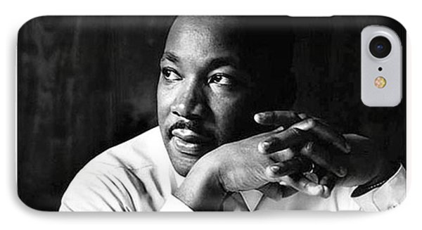 Dr. Martin Luther King Jr. Phone Case by David Bearden