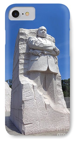 Dr Martin Luther King Memorial Phone Case by Olivier Le Queinec