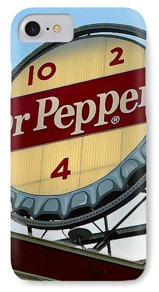 IPhone Case featuring the digital art Dr Pepper by Kara  Stewart