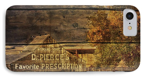 IPhone Case featuring the photograph Dr. Pierce's Barn by Priscilla Burgers