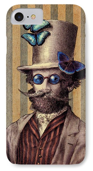 Dr. Popinjay IPhone Case by Eric Fan