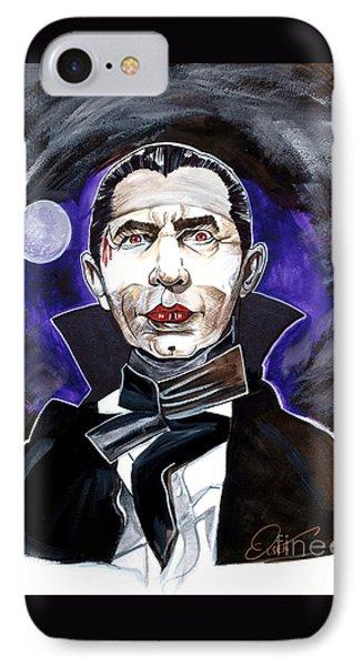 Dracula Bela Lugosi IPhone Case by Dave Olsen