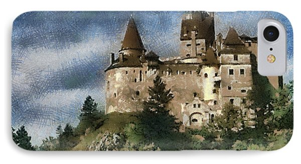 Dracula Castle Romania IPhone Case by Georgi Dimitrov