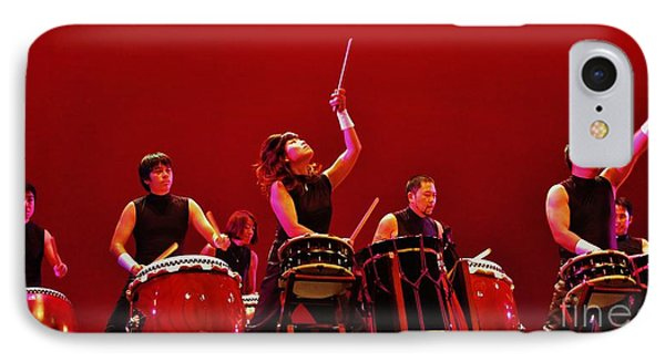 IPhone Case featuring the photograph Dragon Beat Taiko by Craig Wood