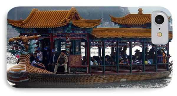 IPhone Case featuring the photograph Dragon Boat by Kay Gilley