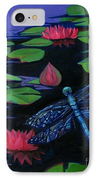 Dragon Fly - Botanical Phone Case by Grace Liberator