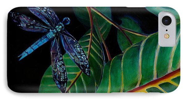 Dragon Fly Soaring - Botanical Phone Case by Grace Liberator