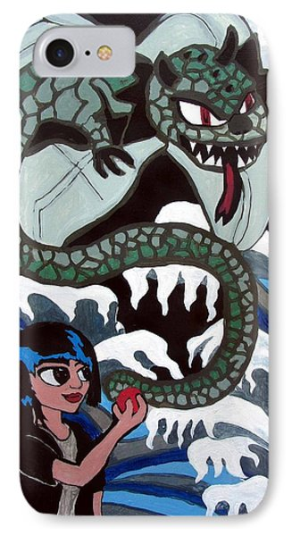 IPhone Case featuring the painting Dragon Fruit by Artists With Autism Inc