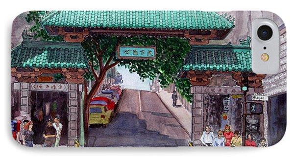 Dragon Gate IPhone Case