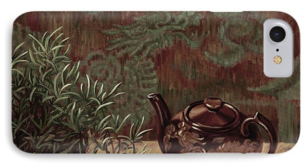 Dragon Teapot IPhone Case by Jane Thorpe