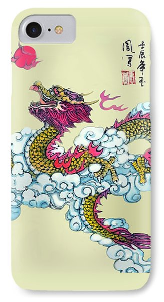 Dragon IPhone Case by Yufeng Wang