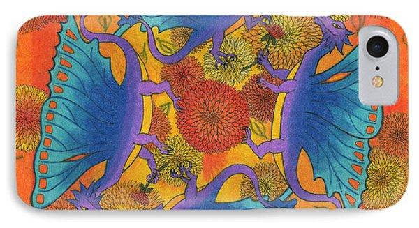 Dragondala Fall Phone Case by Mary J Winters-Meyer