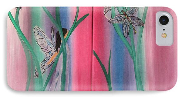 Dragonflies And The Fairy IPhone Case