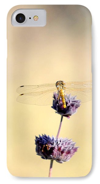 IPhone Case featuring the photograph Dragonfly by AJ  Schibig