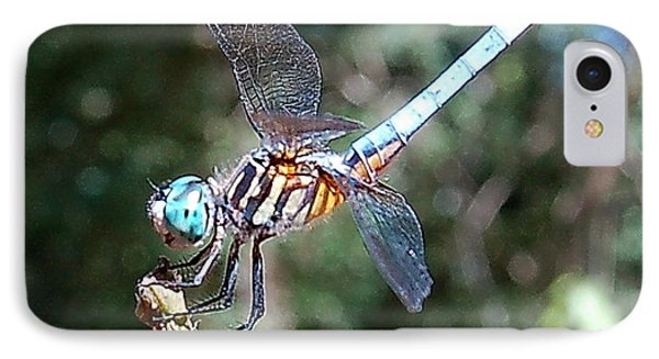 Dragonfly Aqua 2 IPhone Case